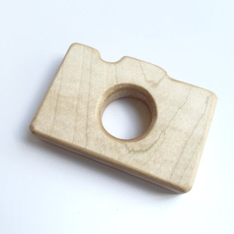 Wooden Camera Teething Toy