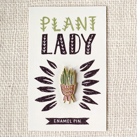 """Crazy Plant Lady"" 