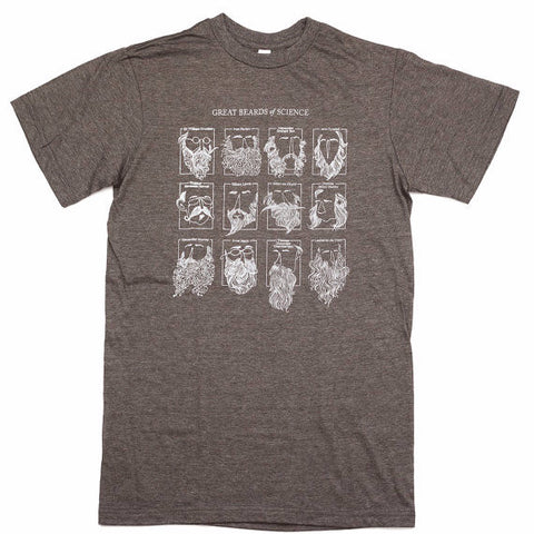 Great Beards of Science T-Shirt
