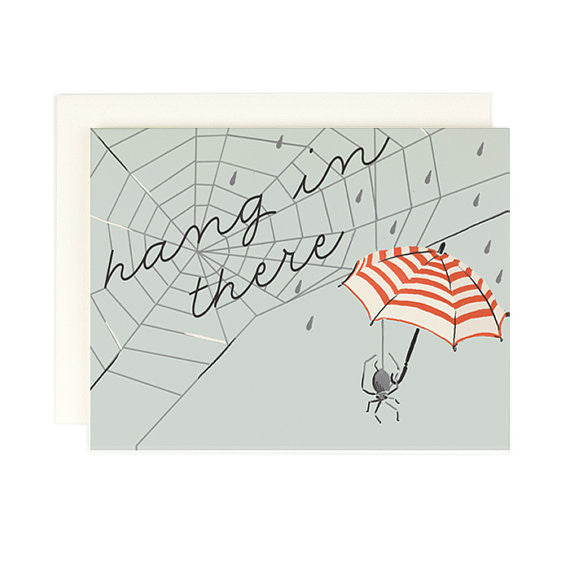 """Hang in There"" Card by Amy Heitman, available at Three Hearts Home"