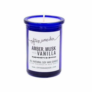Soy Candles | Amber, Musk and Vanilla | Home Fragrance