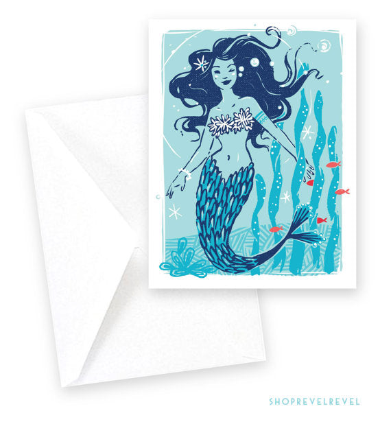 Set of 8 Notecards | Deep Blue Sea