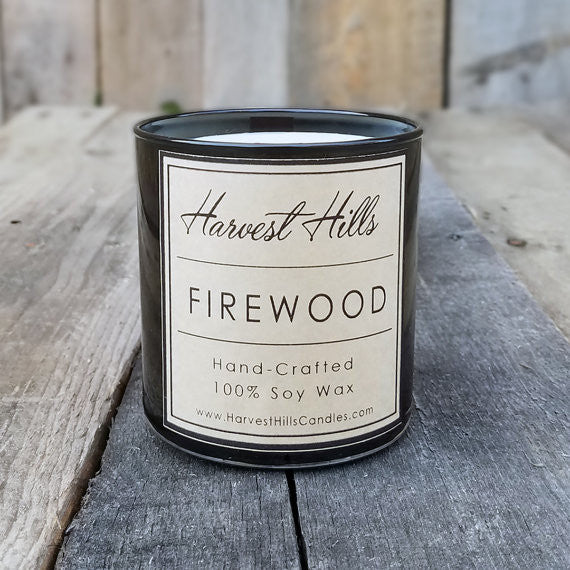 Hand Crafted Soy Candle with Wood Wick