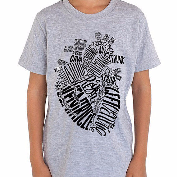 Anatomical Heart T-Shirt