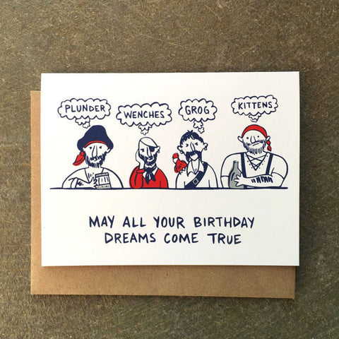 Birthday Card | Pirate Birthday Wishes