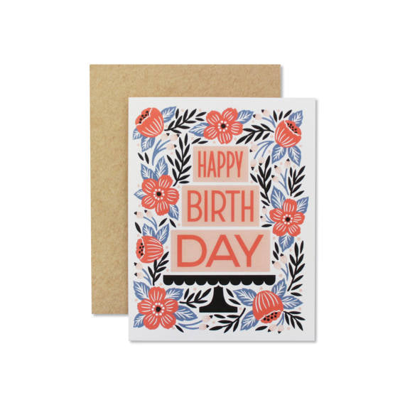 """Birthday Cake"" Card"