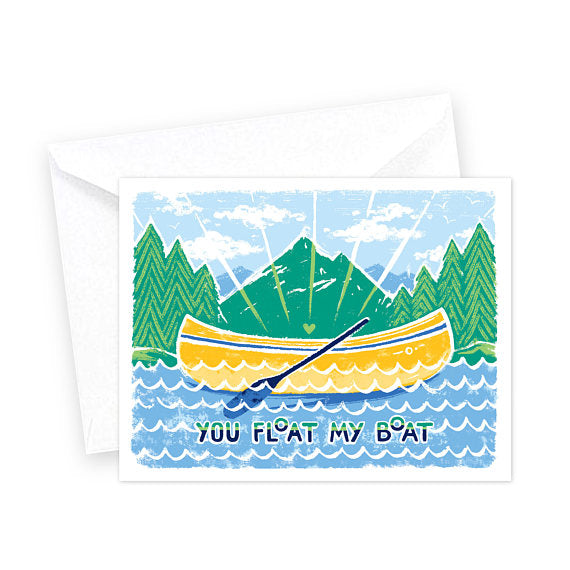 Greeting Card | You Float My Boat