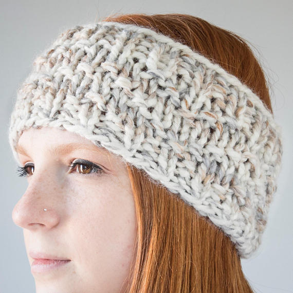 Chevron Knit Earwarmer | Fossil