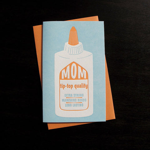 Tip Top Mother's Day Card