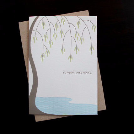 Willow Tree Sympathy Card