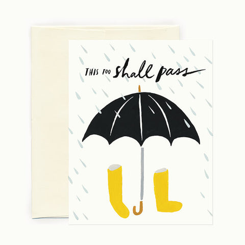 This too shall pass- encouragement card