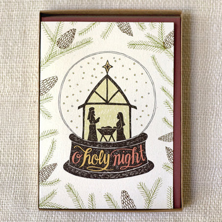 """O Holy Night"" Christmas Cards 