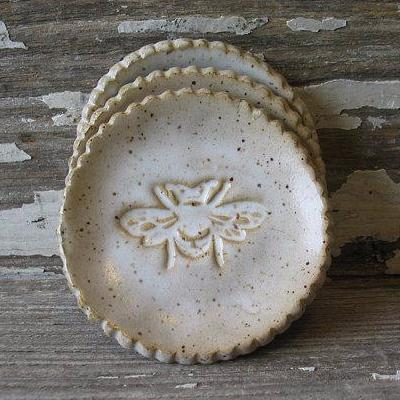 Honey Bee Trinket Dish