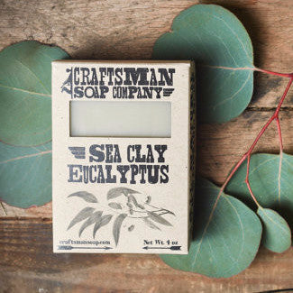 Bar Soap | Sea Clay Eucalyptus