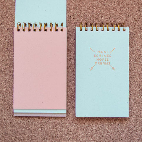 3-Tier Spiral Mini Notebook