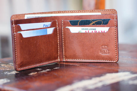 The Big Dixie | Mens Leather Bi-Fold Wallet