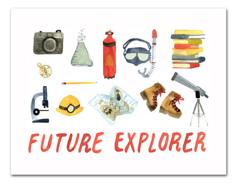 Art Print | Future Explorer