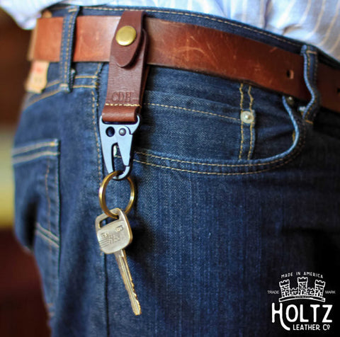 The Henry | Fine Leather Keychain