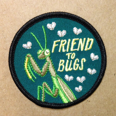 Embroidered Patch | Friend to Bugs