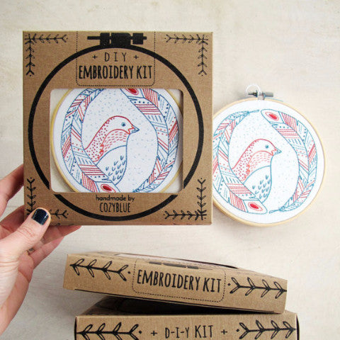 Embroidery Kit | Bird of a Feather