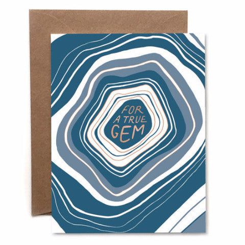 """For a True Gem"" Card by Heartswell, available at Three Hearts Home"