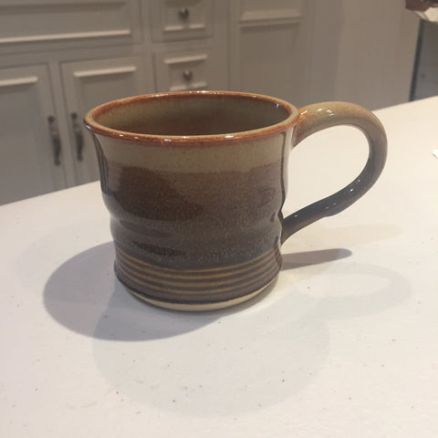 Anna White - Earthtone Mug w/ Lined Bottom