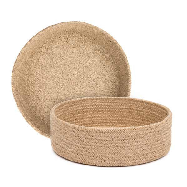 Jute Table Basket | Circular