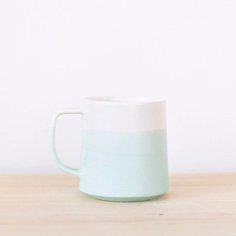 The Danish Mug | Mint and White