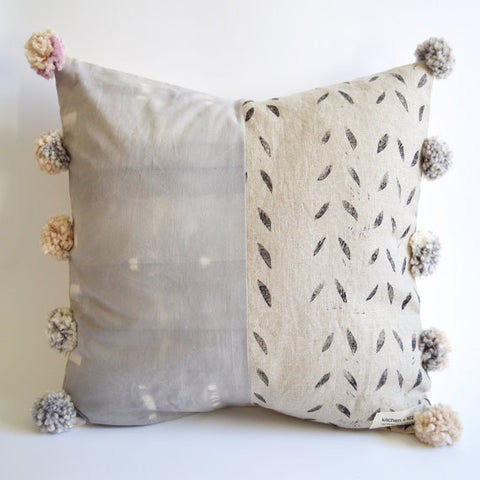 Small Pom Pom Pillow