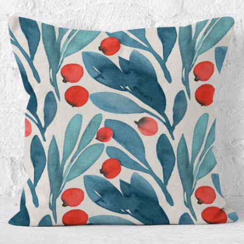 Throw Pillow | Beach Walk
