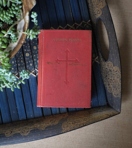 1929 Book of Common Prayer by One of a Kind, available at Three Hearts Home