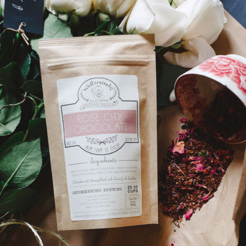 Organic Loose Leaf Tea | Rose City Chocolate