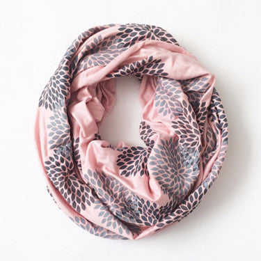 Screen Printed Infinity Scarf