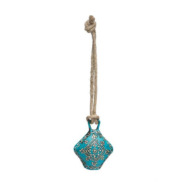 Henna Treasure Bell | Small Teal