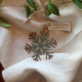 Snowflake Ornament | Patina