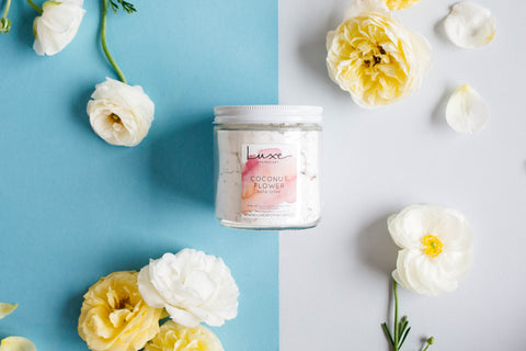 Coconut Flower Bath Soak