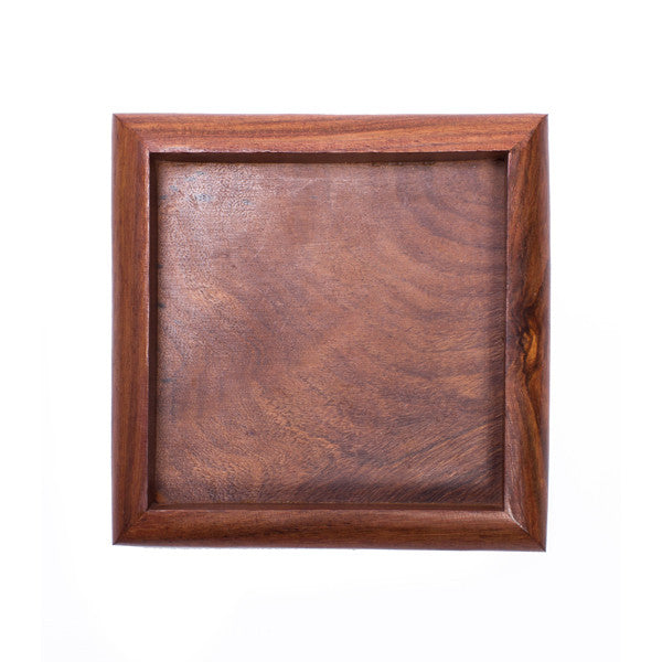 Solid Rosewood Tray | Square
