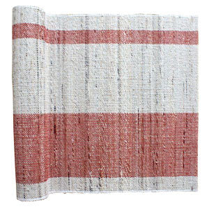 Handmade Bark & Leaf Table Runner | Strawberry | Fair Trade