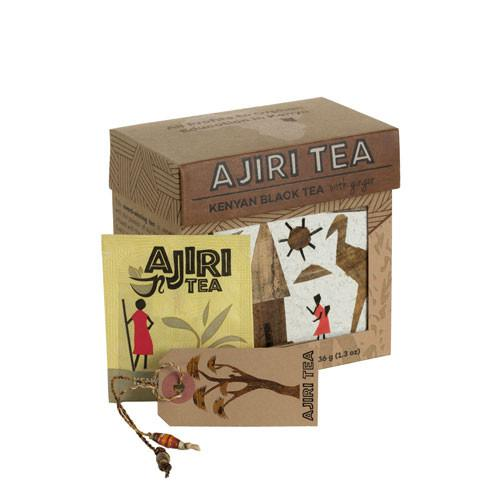 Ajiri Tea | Fair Trade | Kenyan Black Tea with Ginger