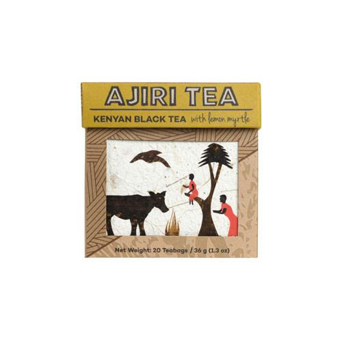 Ajiri Tea | Fair Trade | Kenyan Black Tea with Lemon Myrtle