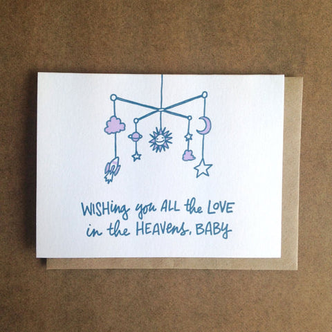 Baby Card | Wishing You All The Love