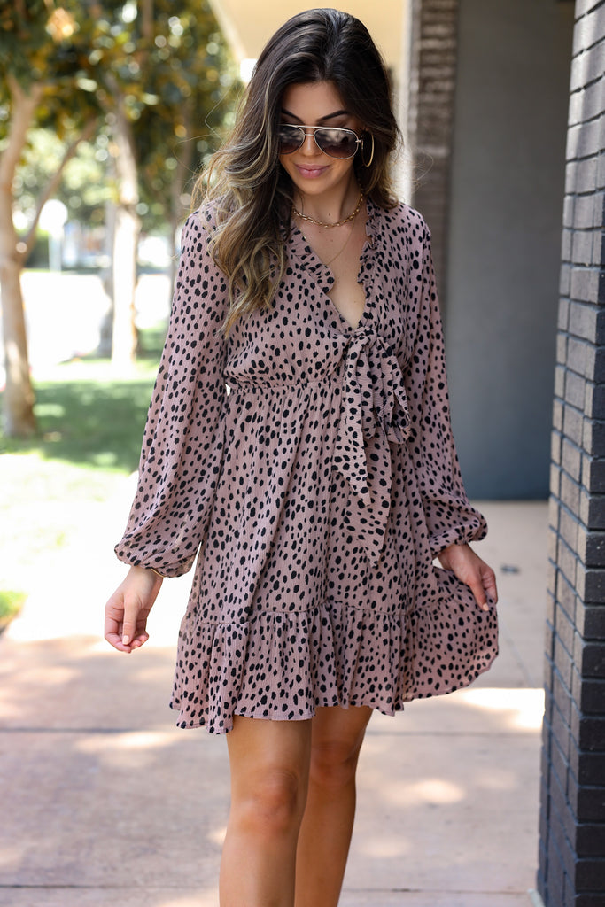Showstopper Cheetah Dress
