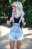 Stevie Denim Overalls - FINAL SALE