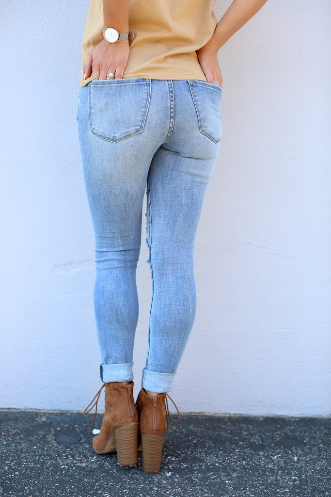Ryan Distressed Denim