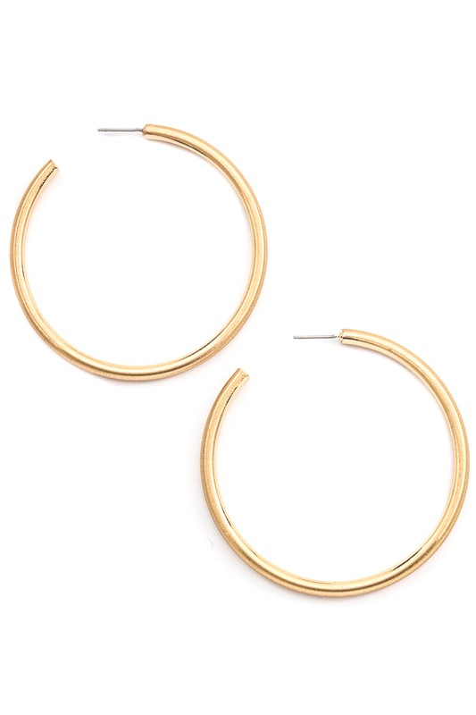 Simply Irresistible Hoop Earrings