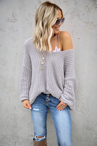 Lazy Days Sweater