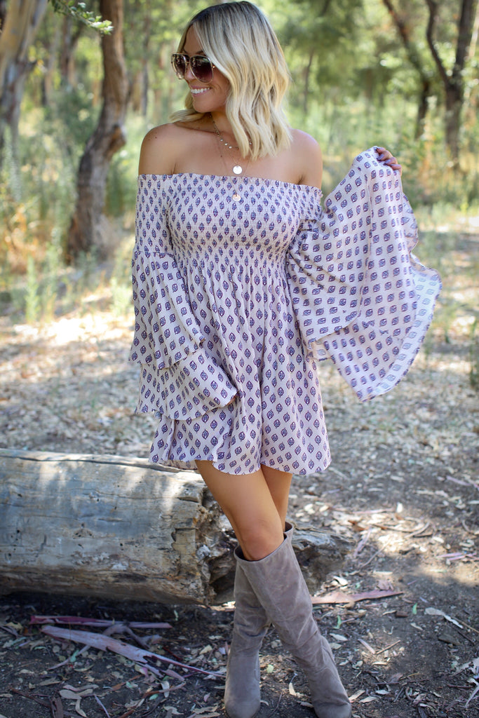Astoria Off Shoulder Dress - FINAL SALE