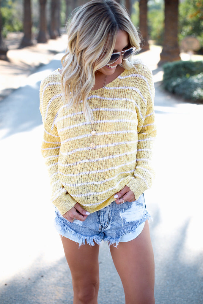Palm Springs Sweater - FINAL SALE