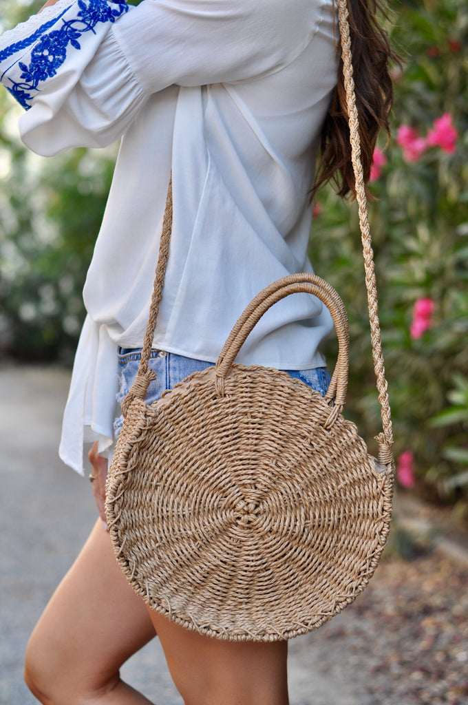 Cardiff Straw Tote