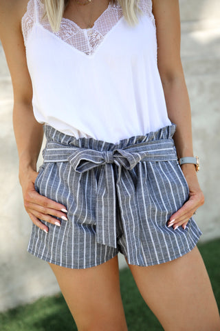 Lagoon High Waist Shorts